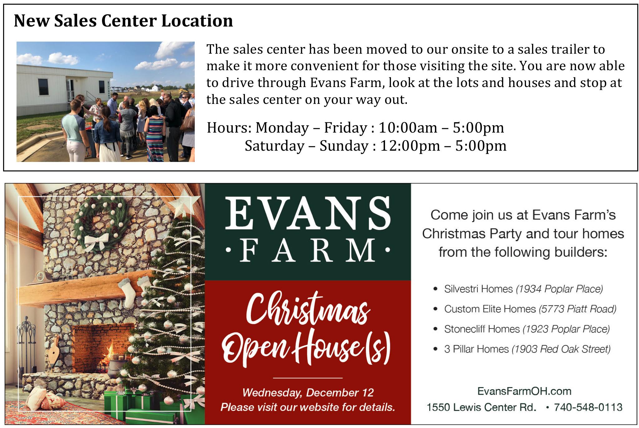 News & Events - Evans Farm